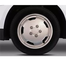 "Fiat Ducato 15"" Silver Wheel Trim Set of 4 Trims Hub Caps Covers Premium Van"