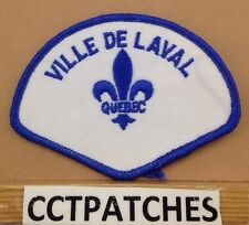 VILLE DE LAVAL QUEBEC, CANADA POLICE ? SHOULDER PATCH