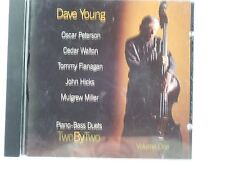 Dave Young - Two By Two-Piano-Bass Duets Vol.1 - CD
