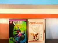 Lot of Two Batman Beyond / Gremlins ((DVD,