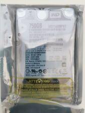 """Western Digital Black WD7500BPKT - 2.5"""" hard drive - 750 GB"""