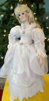 "Paradise Galleries Porcelain Doll Sleeping Beauty 16"" Fairy Tales Collection"