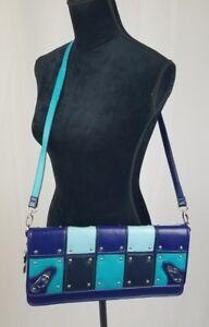 Nicole Lee Sac à Main Bleu Plat Style Pochette