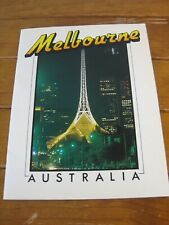 Retro Souvenir Melbourne Booklet (Early 1980s) Brilliant Photographs + Captions