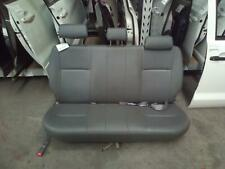 TOYOTA HILUX 2ND SEAT (REAR SEAT) DUAL CAB, GREY VINYL, 07/11-08/15 11 12 13 14