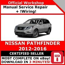 FACTORY WORKSHOP SERVICE REPAIR MANUAL FOR NISSAN PATHFINDER 2012-2016 +WIRING!