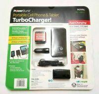Portable Cell Phone & Tablet TurboCharger 2 PowerBurst 1100mAh/4.5A PB11000ST
