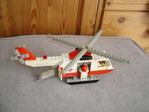 Lego legolande 386 hélicoptère hôpital collection vintage