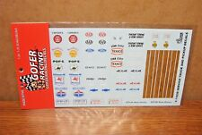 GOFER RACING DECALS SERVICE TRUCK AND PICKUP TRUCK 1/24-1/25 SCALE