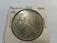 O215 Belgium 1849 5 Franc
