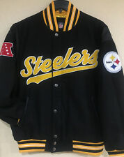 Pittsburgh STEELERS Men's Varsity Jacket by G-III - GAME BALL Varsity Jacket