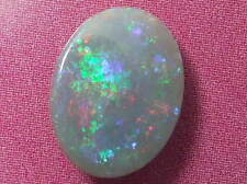 Gorgeous Sparking Pinfire Colour Pattern Natural Solid Dark Grey Opal 1.76 ctw