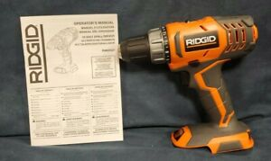 """Ridgid R8600521 Lithium 1/2"""" Drill Driver 18v NEW FREE SHIPPING tool only NEW"""