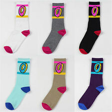 Cute Men Women Odd Future Doughnut Lovers KILL Pop Lovers Socks Cotton Socks