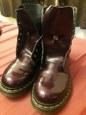 DOC martens 5 boots Purple Patent