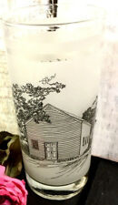 Washington on The Brazos Texas 150 Anniversary Frosted Glass Tumbler Shell Promo