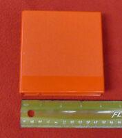"""Floppy Disk Case ~4.25"""" RED - (Holds Five Disks) Hard Plastic Storage"""