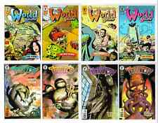 WORLD BELOW & TERRITORY #1-4 NM+ UNREAD 1999  DARK HORSE COMICS CHADWICK D LLOYD