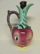 Vintage PY Anthropomorphic Smiley Apple/Fruit Oil Cruet (Japan)