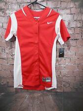 NEW Nike  Women's  Softball Jersey Red White 630600-658 XS MSRP $60.00