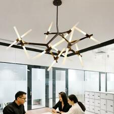 Industrial Modern Metal Acrylic Branch Chandelier Pendant Light Ceiling Fixtures