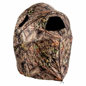 Ameristep Tent Chair Blind |1-Person Hunting Blind in Mossy Oak Break-Up Country