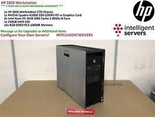 HP Z820 Workstation 2x Xeon E5-2650 2.00GHz 128GB DDR3 256GB SSD Quadro K2000