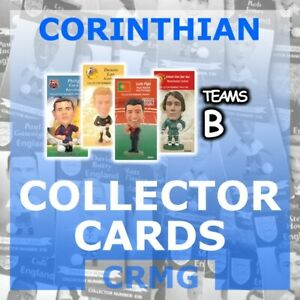 CRMG Corinthian ProStars COLLECTOR CARDS TEAMS B (choose from list)