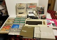 Vintage Commodore Vic-20 Computer & C2N Datasette Unit 3 Games Untested As Is