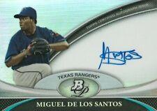 2011 Bowman Platinum Prospect Autograph Refractor #MD Miguel De Los Santos