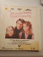 RCA CED SelectaVision VideoDiscs Movie IRRECONCILABLE DIFFERENCES