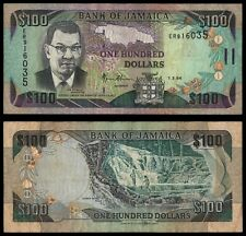 XY.089} JAMAICA 100 dollars 1994 VF