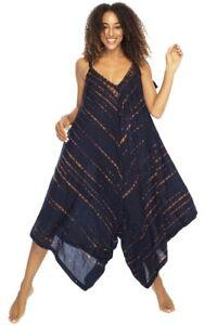 Jumpsuit,Culottes, Boho Style,Playsuit, plus size 16-26 free size
