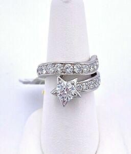 "Chanel ""Comete"" Diamond Platinum Ring"