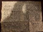 Gettysburg Address Parchment Replica