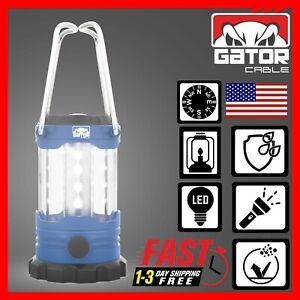 Portable Camping Hurricane LED Lantern Adjustable Light Lamp Compass 1000 Lumens