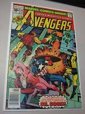 Avengers # 156 (1977) High Grade Doctor Doom !! 1st Appearance of Tyrack
