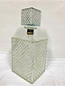 Fancy Liqueur/ Liquor/ Whisky/ Whiskey Glass Decanter, Elegant Design VTG