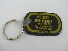 Vintage Advertising Keychain: Precision Auto Welding W. Hazleton PA