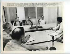 1971 Press Photo Apollo 14 Astronauts Stuart Roosa, Alan Shepard, Edgar Mitchell