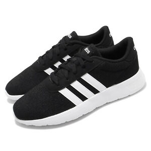 adidas Lite Racer Black White Neo Mens Running Shoes Lifestyle Sneakers EH1323