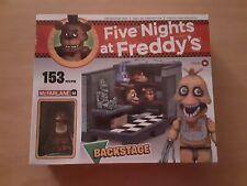 Five Nights At Freddy's Mcfarlane Toys Backstage Construction Set fnaf new