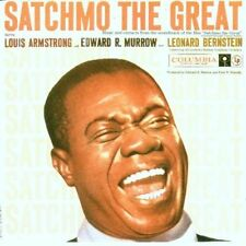 Louis Armstrong Satchmo the great-Music and extracts from the soundtrack .. [CD]