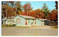 Vintage M's Motel and Resort on Mille Lacs Lake, Onamia, MN Postcard