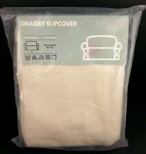 """IKEA Dragby Loveseat Slipcover 72x35x34 Fits 58"""" to 72"""" Beige 001.105.79 Cotton"""