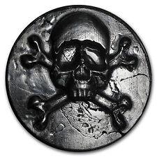 1 kilo Silver - MK Barz & Bullion (Shipwreck, Skull & Bones) - SKU #102535