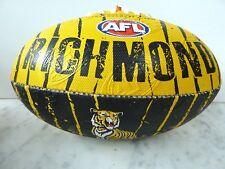 AFL RICHMOND TIGERS SIZE 2 CLUB LOGO FOOTBALL - BRAND NEW