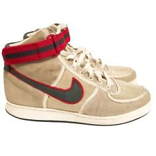 Vandals Stone/White/Grey/Red Hightops Boots  RRP: £115