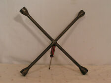 Vintage 1960s Ken-Tool T-62 4-Way Lug Wrench Made in the USA Free Shipping