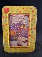 """MARY ENGELBREIT """"NOTEABLES"""" COLLECTABLE MEMORY BOX """"RING IN THE NEW YEAR"""""""